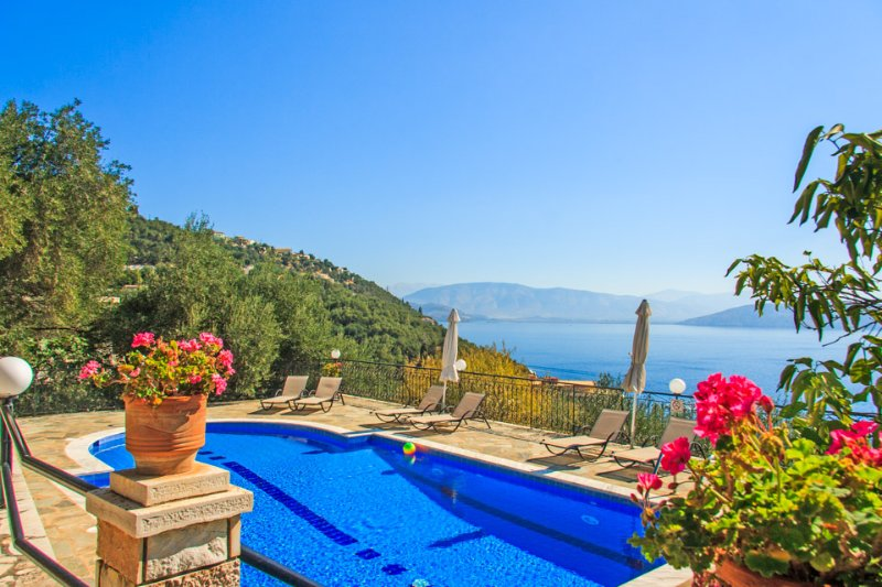 Villa With Private Pool and Sea Views - Villa Lina - Kalami - rentals
