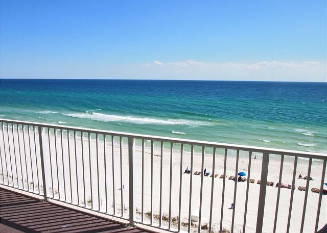 Ocean Reef Low 8th Floor Condo - 2 Bdrm, 2 Bath - Overlooks the Sandy Beach! - Image 1 - Panama City Beach - rentals