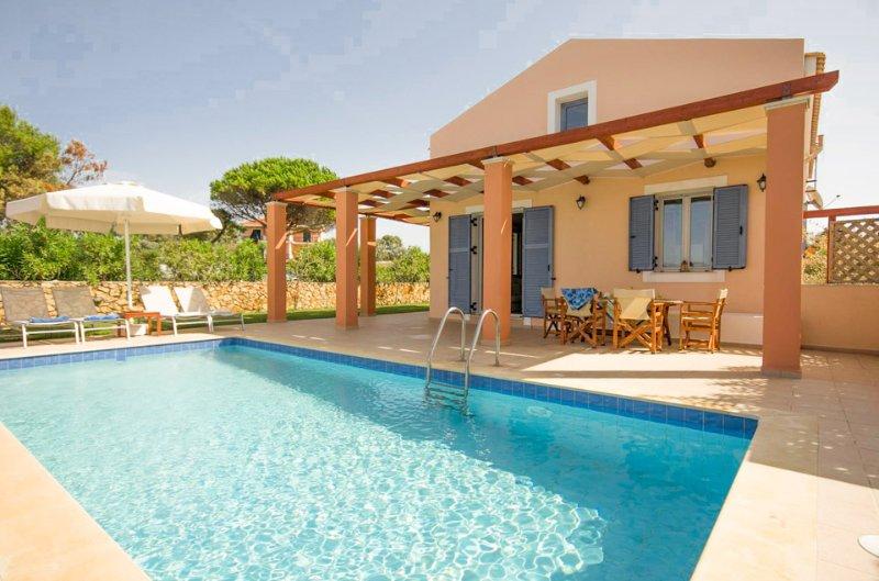 Private Villa with Pool - Maria Beach House - Kounopetra - rentals