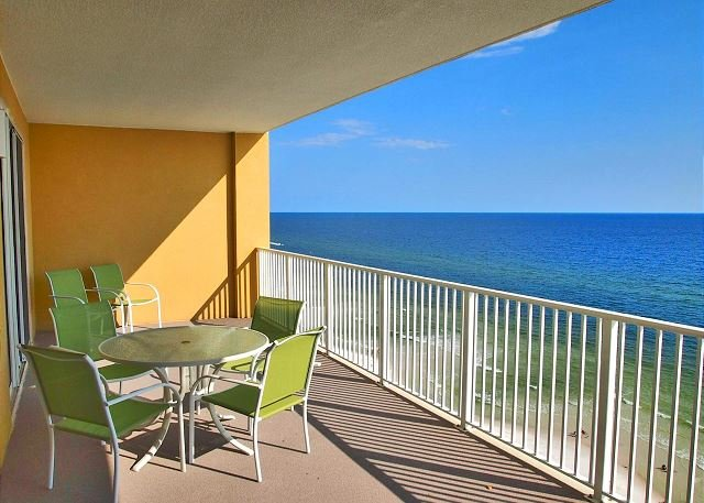 Gulf-Front 2/2 Condo at Tropic Winds! Quiet Location, Free Beach Service! - Image 1 - Panama City Beach - rentals
