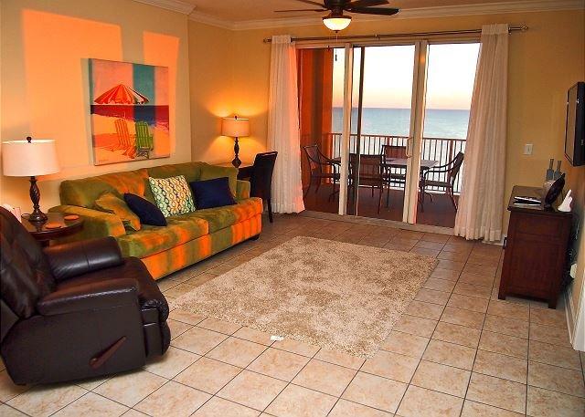Fun, Fabulous, Beach Getaway at Tropic Winds, Free Beach Service! XL Balcony! - Image 1 - Panama City Beach - rentals
