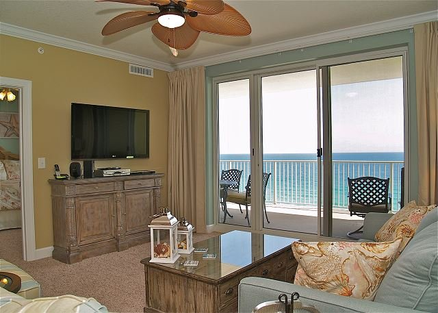 Fabulous 2 BR Condo - Gulf Front with FREE Beach Service!! New Tile Flooring! - Image 1 - Panama City Beach - rentals