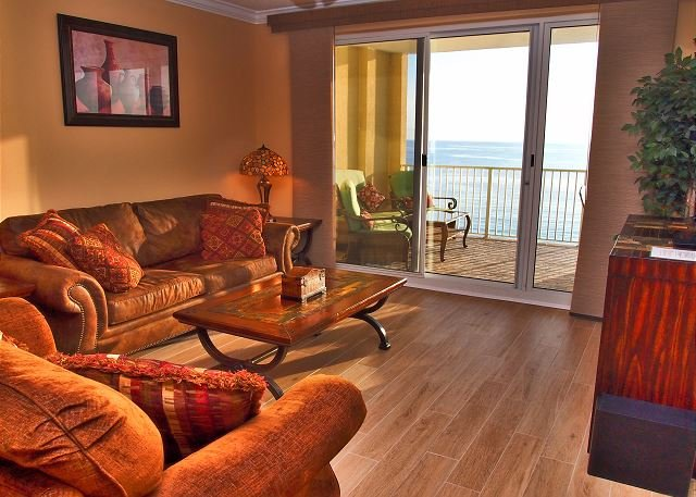 Platinum Rated, Gulf Front, Ocean Reef 2 Bed 2 Bath With Free Beach Service - Image 1 - Panama City Beach - rentals