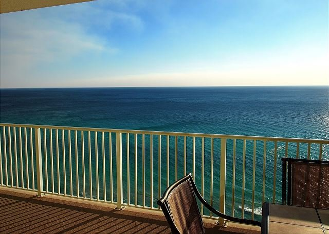 Endless Gulf View! Gulf Front, Fabulous Condo with Free Beach Service Chairs! - Image 1 - Panama City Beach - rentals