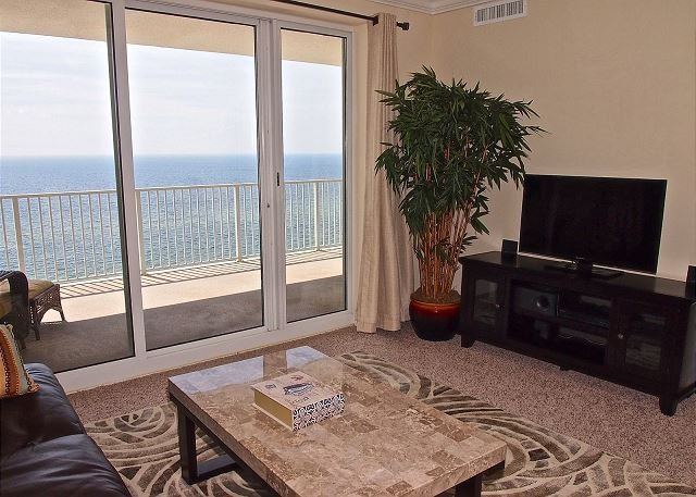 Gorgeous Gulf Front 2/2 At Ocean Reef With Huge Balcony & Free Beach Service! - Image 1 - Panama City Beach - rentals