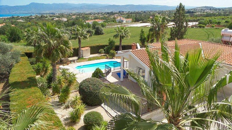 Garden and Swimming Pool - Villa Chrystalla - Latchi - rentals