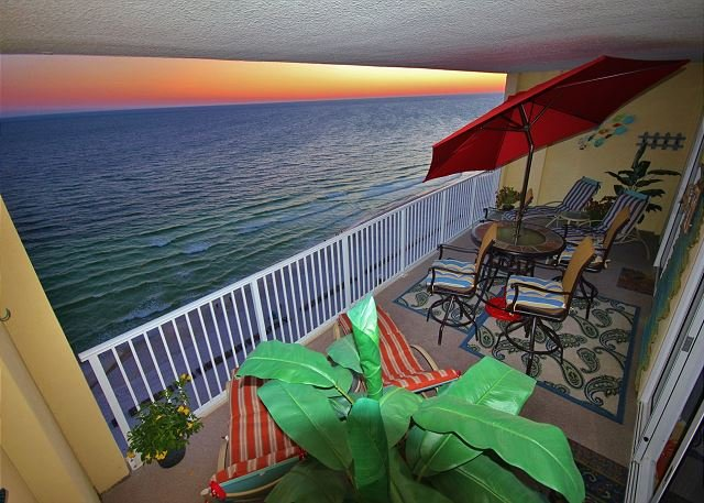 Beachy, Relaxing, 2 BR Gulf Front Condo in Ocean Reef - FREE Beach Service!! - Image 1 - Panama City Beach - rentals