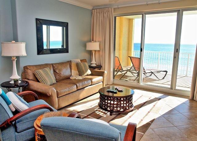 Lowest Floor, Ocean Reef Condo 2/2, Massive Balcony Overlooking the Beach! - Image 1 - Panama City Beach - rentals