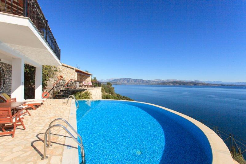 Villa With Infinity Pool - House On The Rocks - Nissaki - rentals