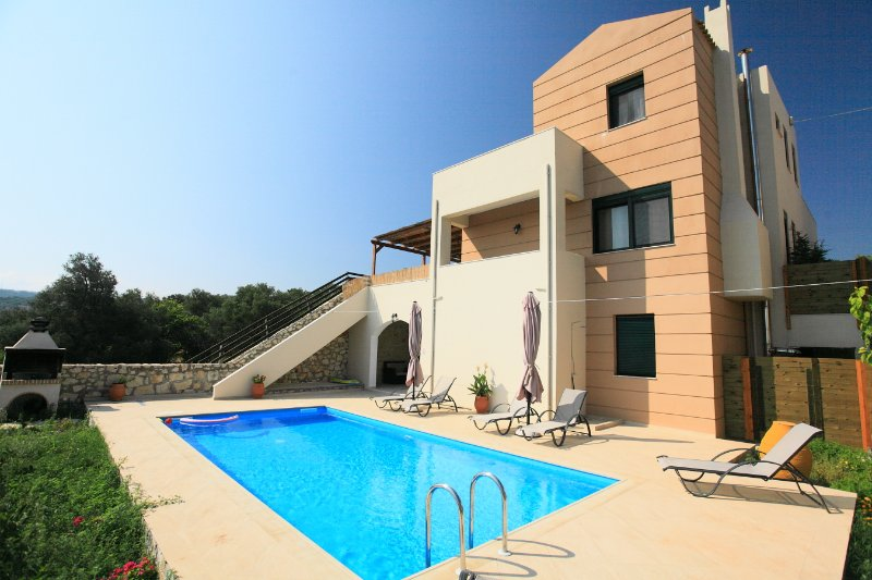 Villa With Private Pool and Sea Views - Villa Gerani Panorama - Gerani - rentals