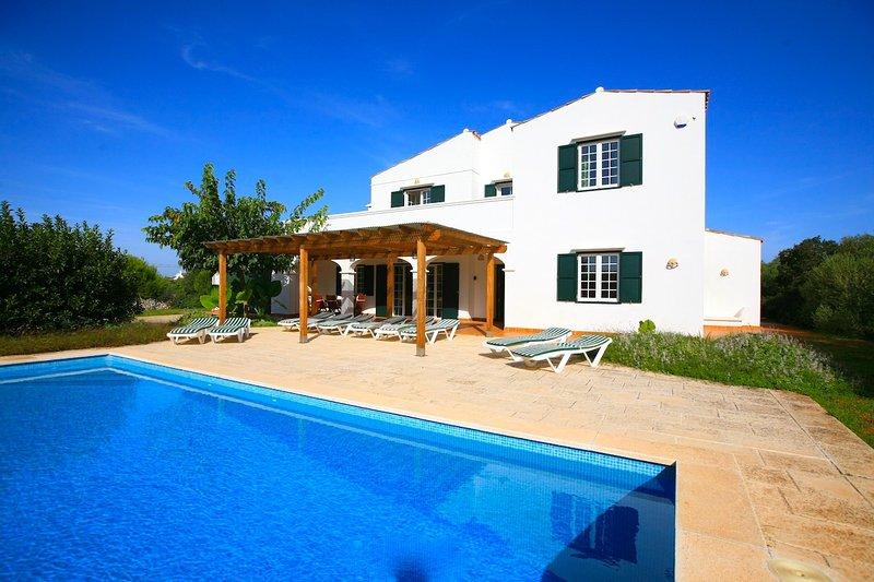 Villa with Private Pool - Villa Biniparrell - Sant  Lluis es - rentals