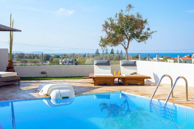 Swimming Pool With Sea Views - Villa Thetis - Adelianos Kambos - rentals