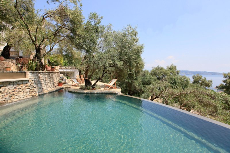 Villa With Private Pool and Beautiful Views - The Olive Press - Agni Bay - Kalami - rentals