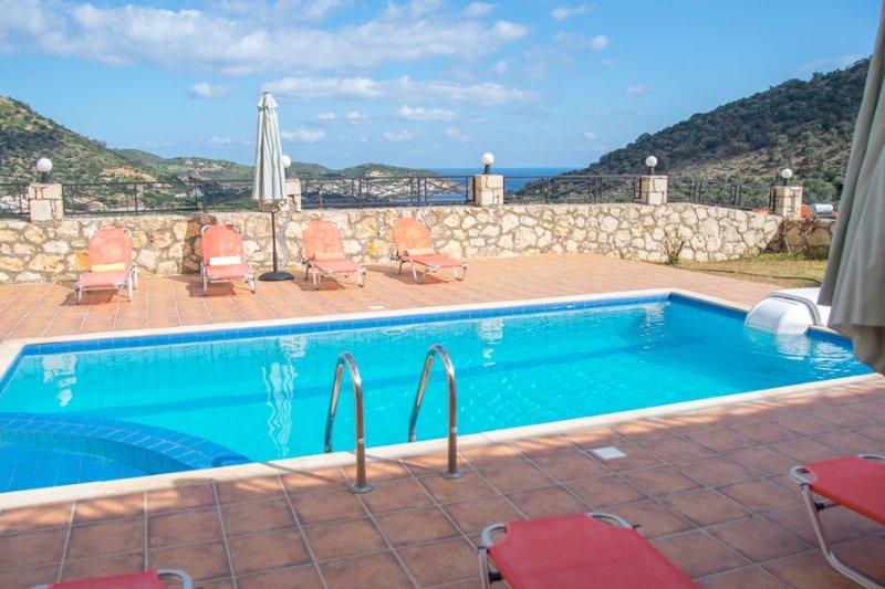 Villa With Private Pool and Sea Views - Villa Sunlight - Milopotamos - rentals