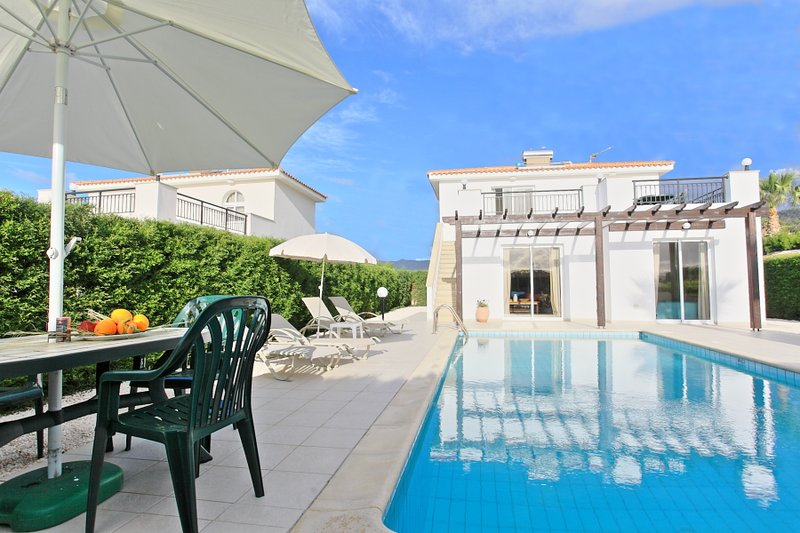 Swimming Pool With Sun Loungers - Villa Altea - Limni - rentals