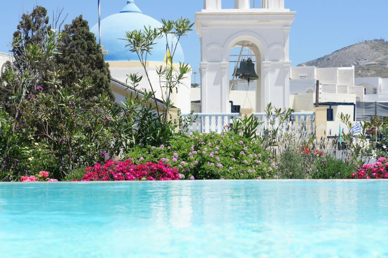 Santorini - Gv - The Winegrowers Mansion Kyani with pool & 3 B/R in a quaint - Image 1 - Santorini - rentals