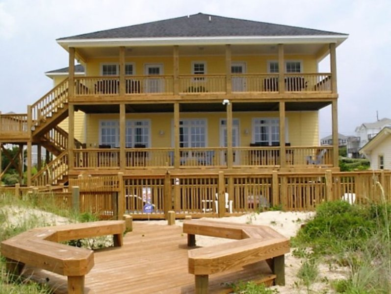 Exterior - Beach Place - Emerald Isle - rentals
