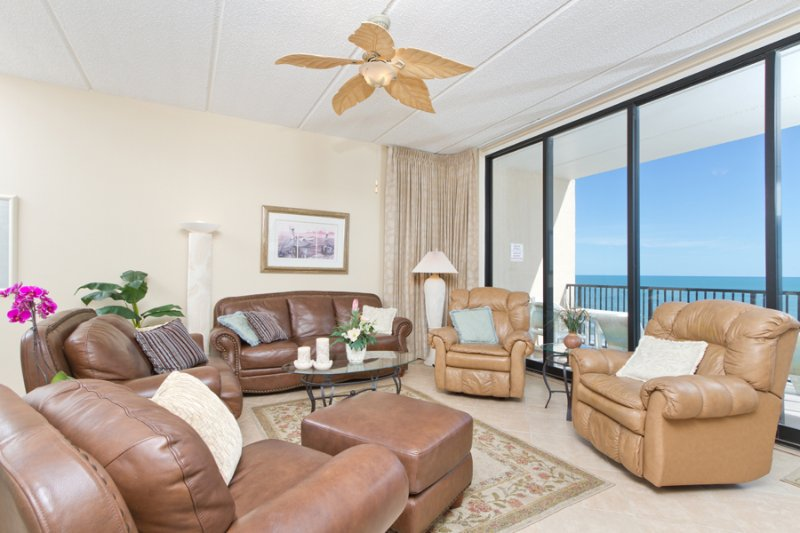 Living area - Suntide III 1208 - South Padre Island - rentals