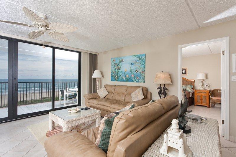 Living Area - Suntide III 508 - South Padre Island - rentals