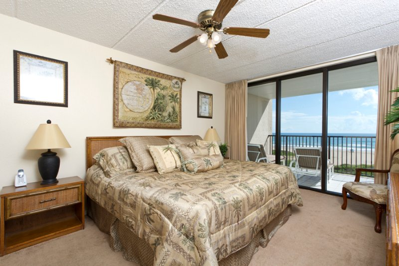 Master with a gorgeous view of the beach - Suntide III 407 - South Padre Island - rentals