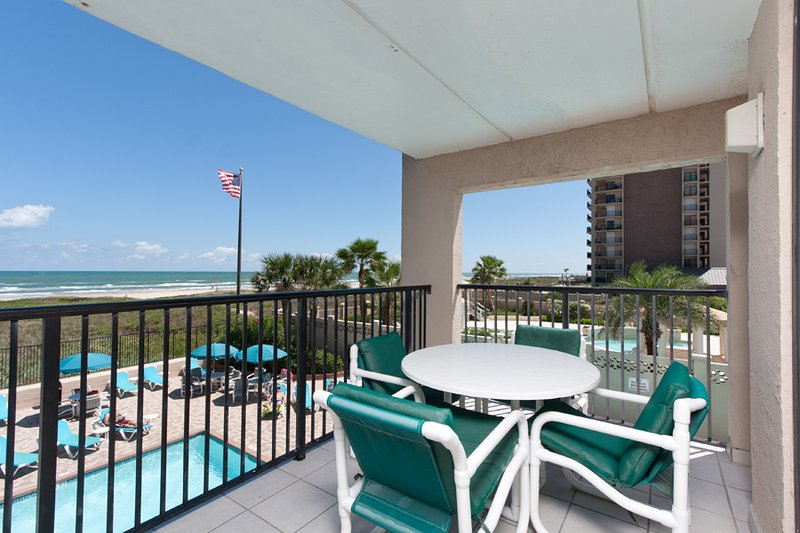 Corner beach view and pool view - Suntide III 210 - South Padre Island - rentals