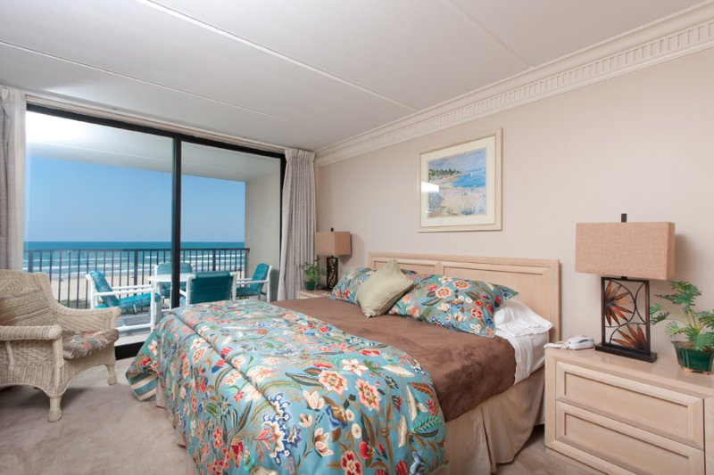 Master Bedroom - Suntide III 402 - South Padre Island - rentals