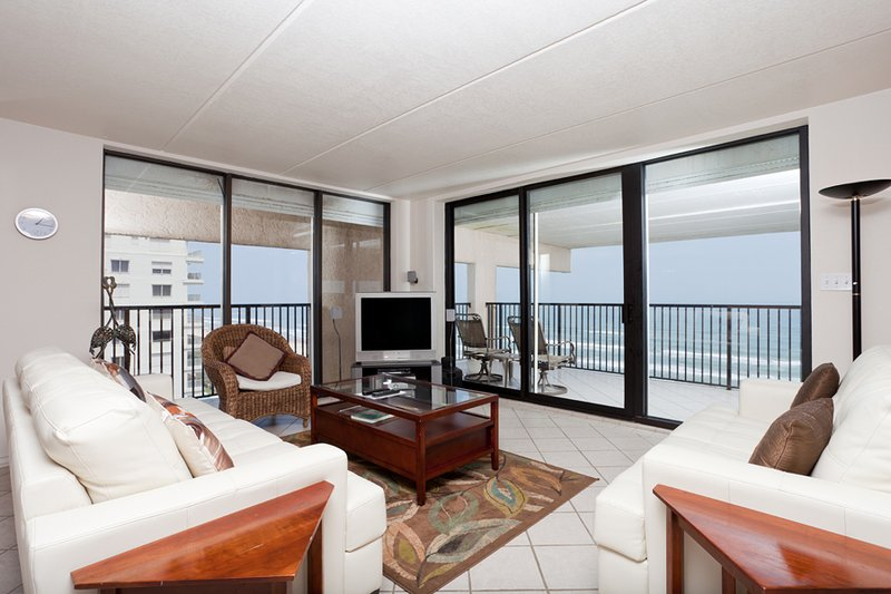Living area with great ocean view! - Suntide III 1001 - South Padre Island - rentals