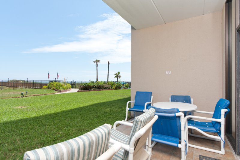 Balcony Area - Suntide III 106 - South Padre Island - rentals