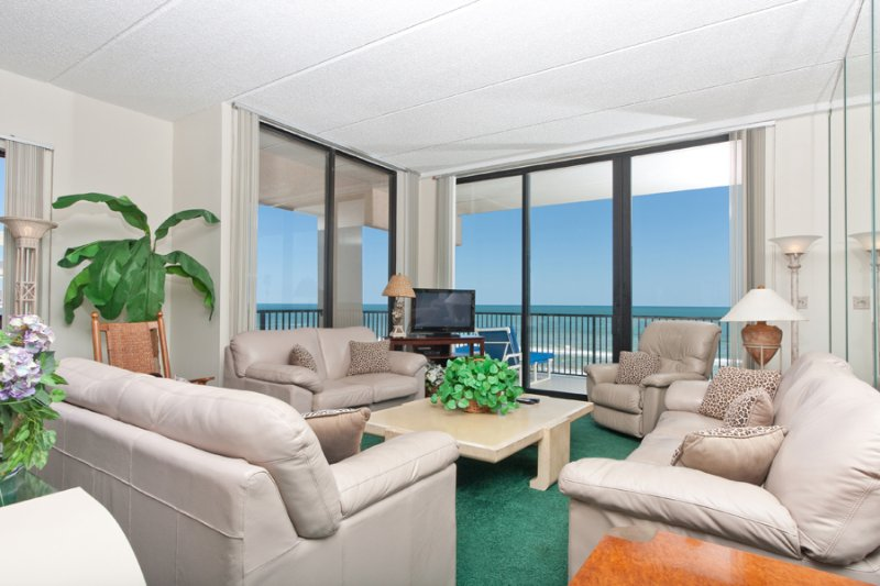 Living Area - Suntide III 1101 - South Padre Island - rentals