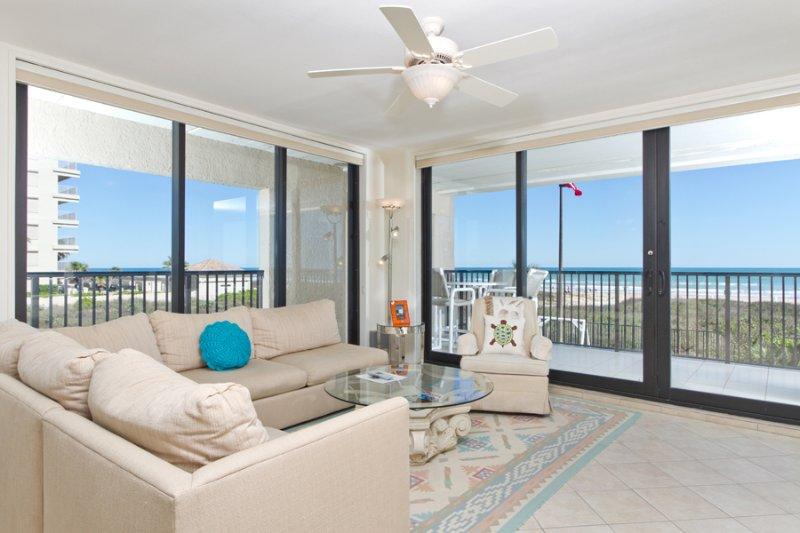 Living area - Suntide III 201 - South Padre Island - rentals