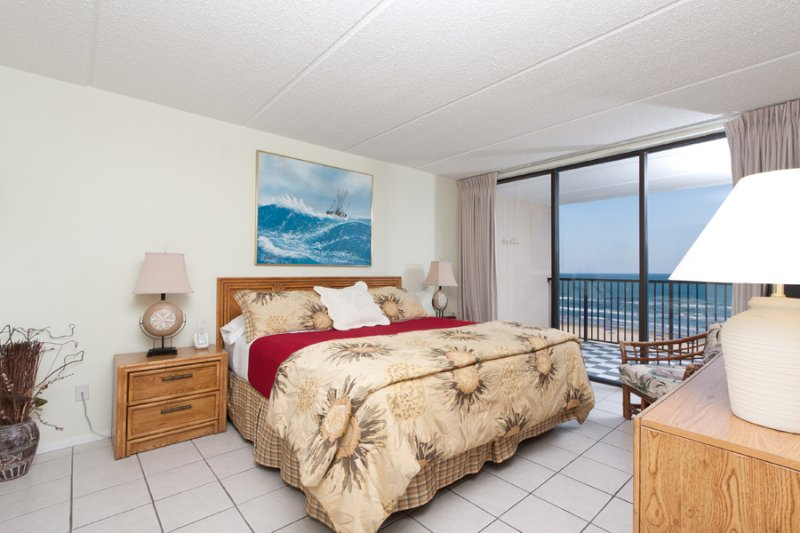 View From Master Bathroom To Master Bedroom - Suntide III 709 - South Padre Island - rentals