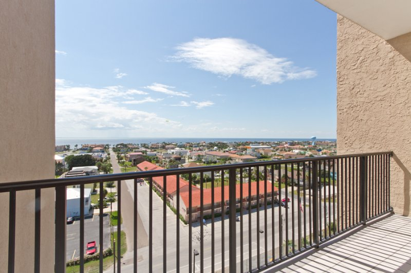 View of the Laguna Madre from the front door - Suntide III 1103 - South Padre Island - rentals