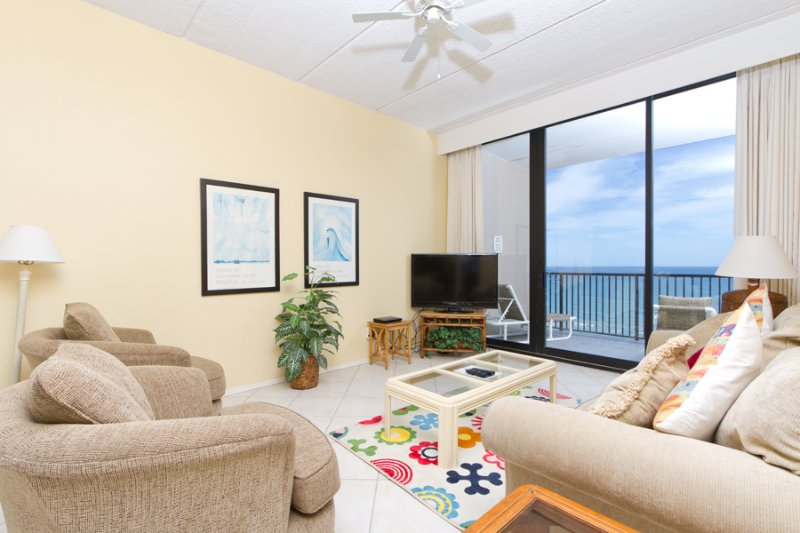 Living area - Suntide III 1202 - South Padre Island - rentals