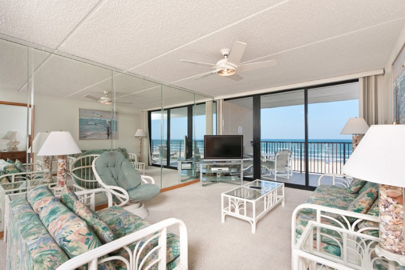 Living Area - Suntide III 504 - South Padre Island - rentals