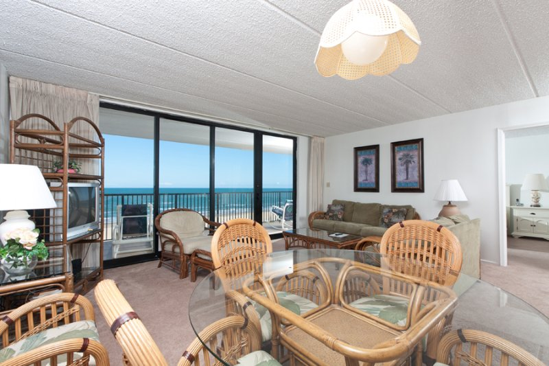 Living Area - Suntide III 606 - South Padre Island - rentals