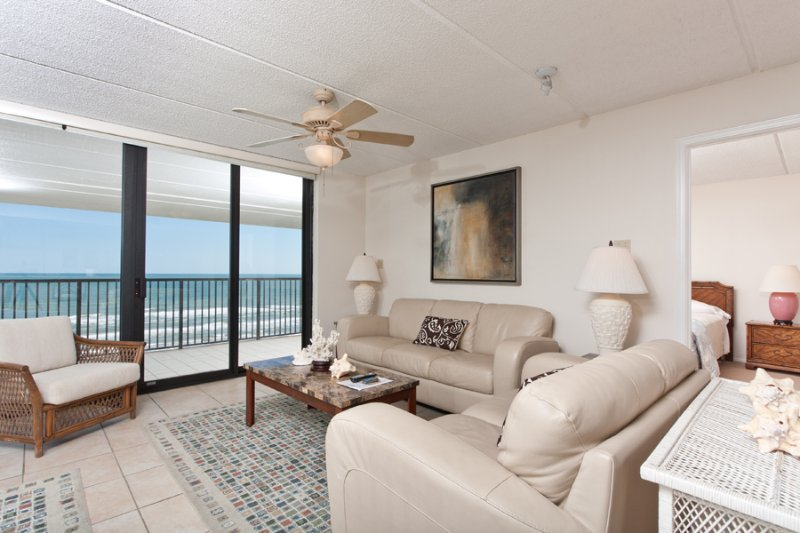 Living Area - Suntide III 1008 - South Padre Island - rentals