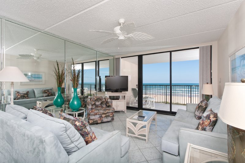 Living Area - Suntide III 502 - South Padre Island - rentals