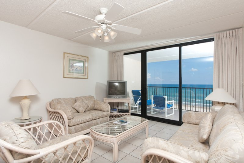 Living Area - Suntide III 802 - South Padre Island - rentals