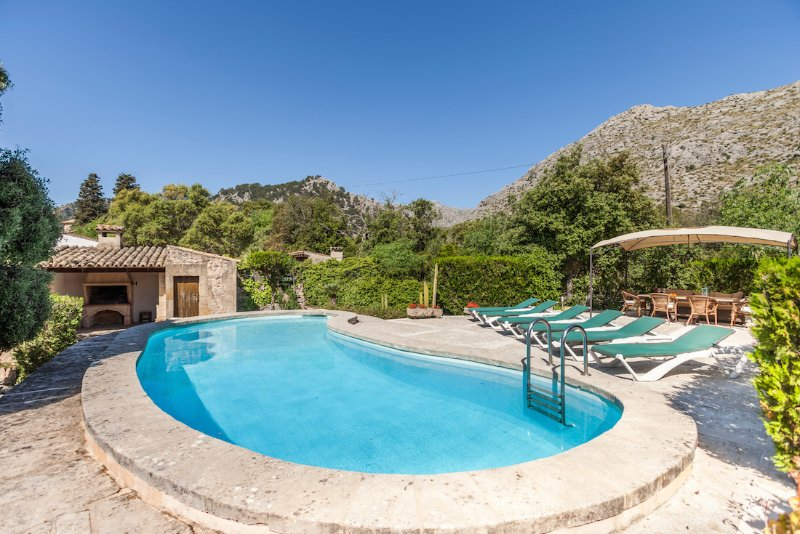 Swimming Pool with Sun Loungers - Villa Colonya - Pollenca - rentals