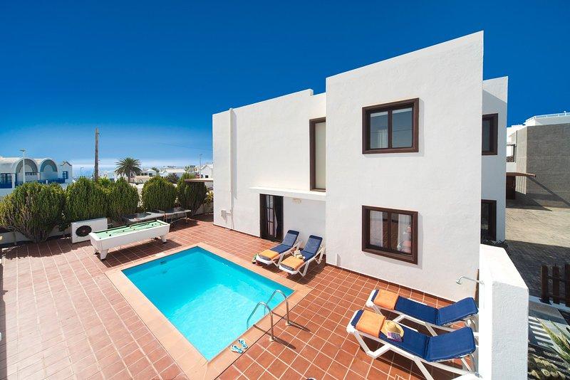 Villa with Private Pool - Villa Julianne Carmen 1 - Puerto Del Carmen - rentals