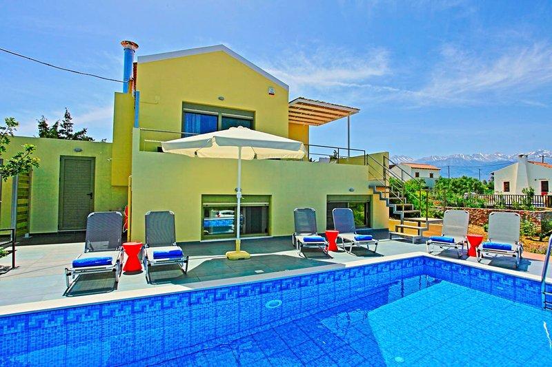 Villa With Private Pool - Villa Arda - Vamos - rentals