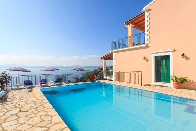 Villa With Private Pool and Sea Views - Villa Armandos - Nissaki - rentals