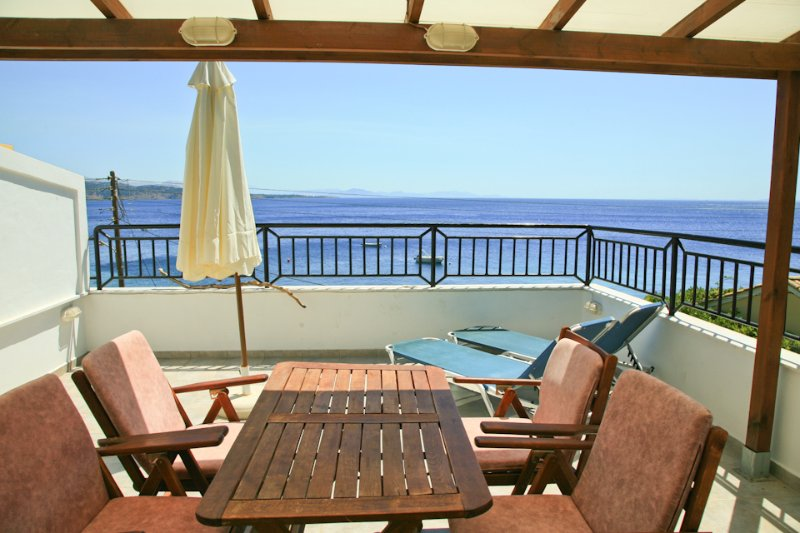 Balcony With Sea Views - Georgia - Nissaki - rentals
