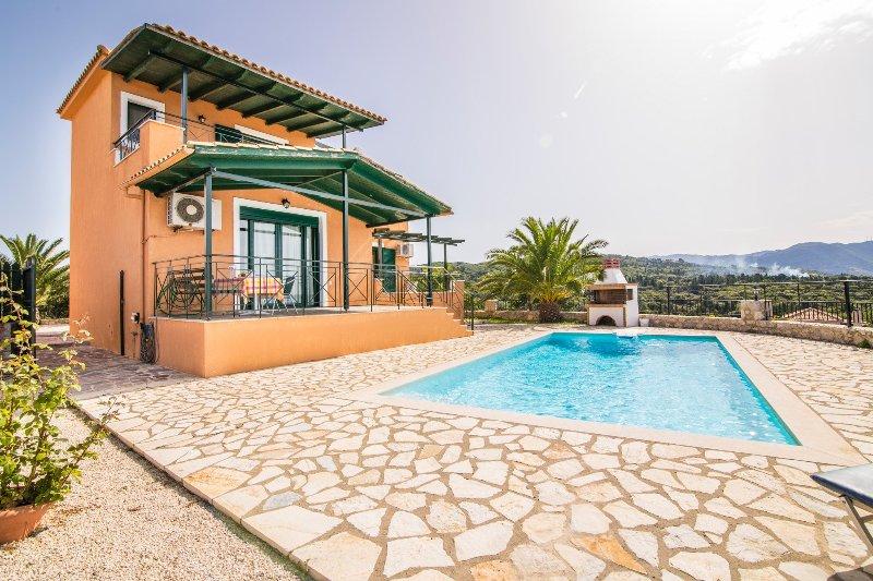 Villa With Private Pool and Sea Views - Villa Vera - Kothreas - rentals