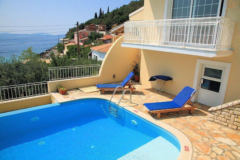 Villa With Private Pool and Sea Views - Villa Thalassa - Nissaki - rentals