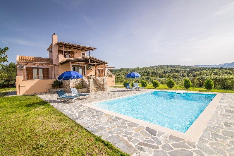 Villa With Private Pool and Sea Views - Villa Aetos - Kothreas - rentals