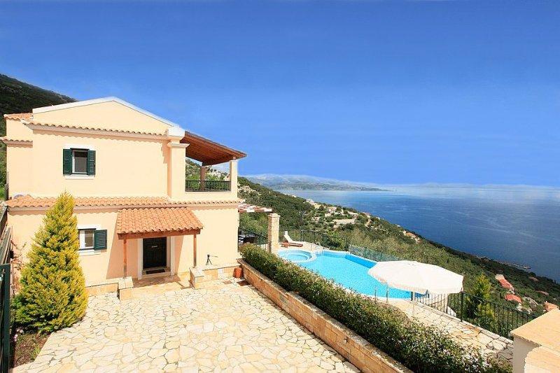 Villa With Private Pool and Sea Views - Villa Magda - Nissaki - rentals