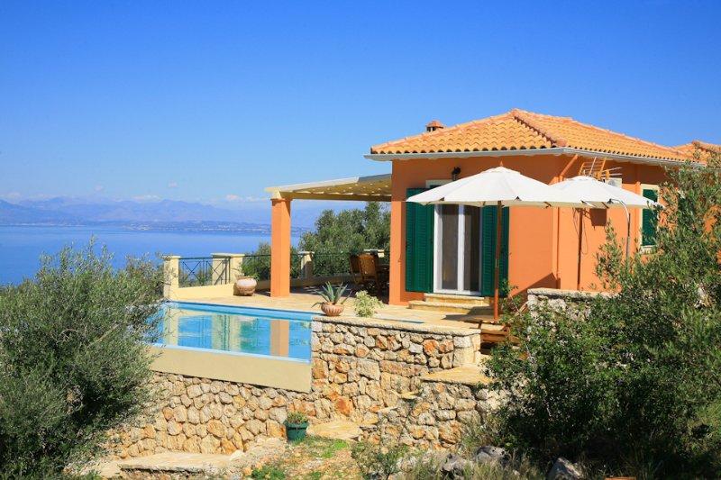 Fantastic position - Villa Belvedere Rosa - Tsoukalades - rentals