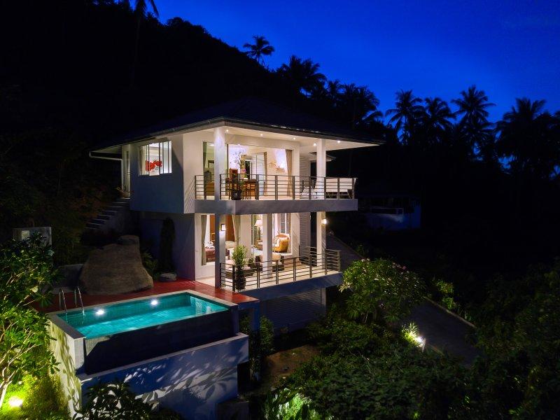 Tropical pool villa sabaai® Homes Samui sunrise - Sea views - Tropical sunrise Sea view pool villa sabaai®Homes Chaweng Noi Beach Ko Samui - Chaweng - rentals