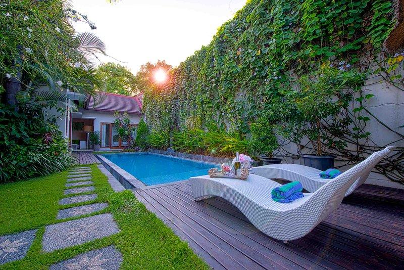 2 BR Luxury Garden Pool Villa Enjoy Seminyak Bali - Image 1 - Seminyak - rentals